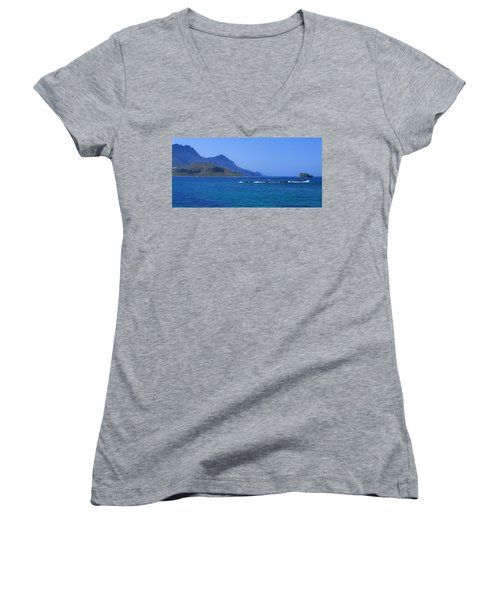 Coast Of Gramvousa Women's V-Neck