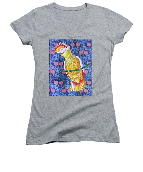 Cockatoo Women's V-Neck T-Shirt