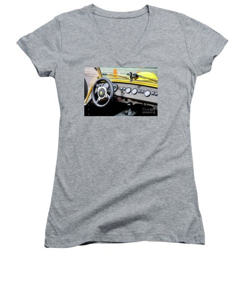 Cockpit 7 Women's V-Neck (Athletic Fit)