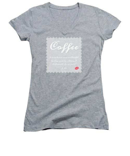 Coffee I Do Women's V-Neck