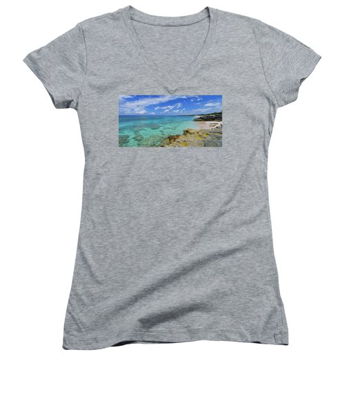 Color And Texture Women's V-Neck T-Shirt