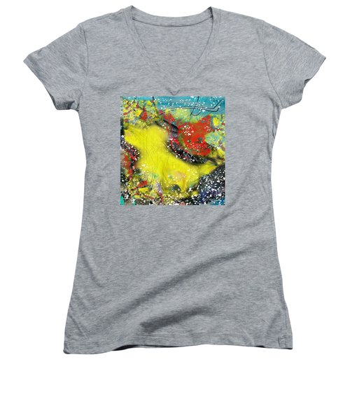 Let's Celebrate Women's V-Neck T-Shirt