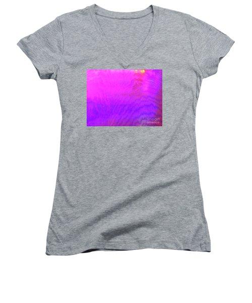 Color Surge Women's V-Neck
