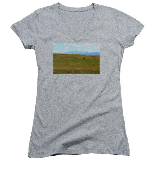 Colorado Grassland Women's V-Neck T-Shirt