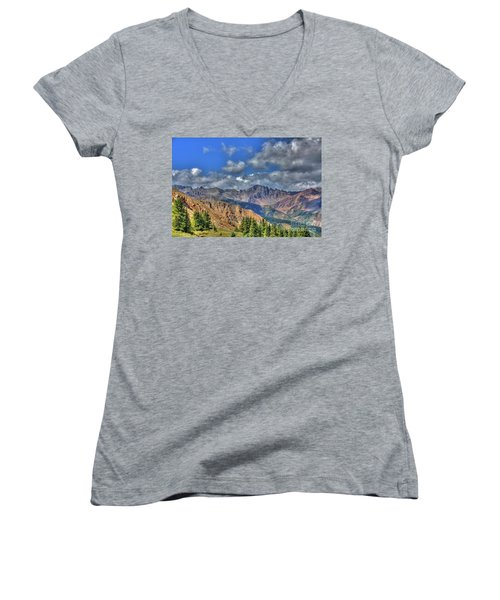 Colorado Rocky Mountains Women's V-Neck