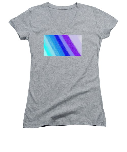 Colorful 3 Women's V-Neck T-Shirt