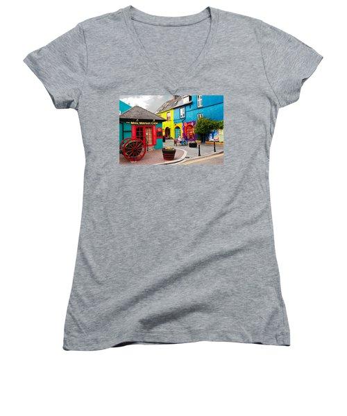 Colorful Corner Women's V-Neck T-Shirt
