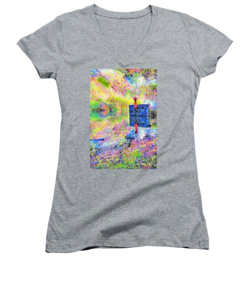 Colorful Reflections Women's V-Neck