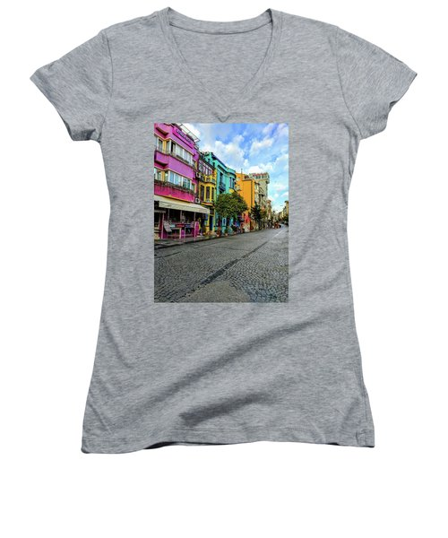 Colors Of Istanbul Women's V-Neck T-Shirt