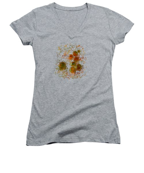 Colors Of Nature 10 Women's V-Neck (Athletic Fit)