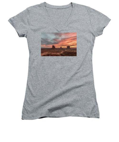 Colors Of The Past Women's V-Neck