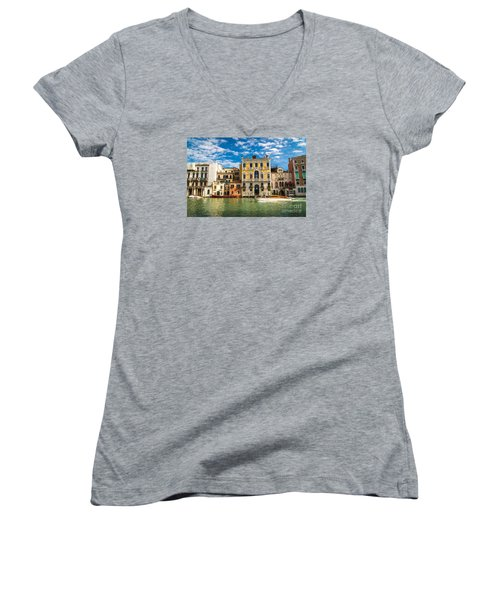 Colors Of Venice - Italy Women's V-Neck T-Shirt
