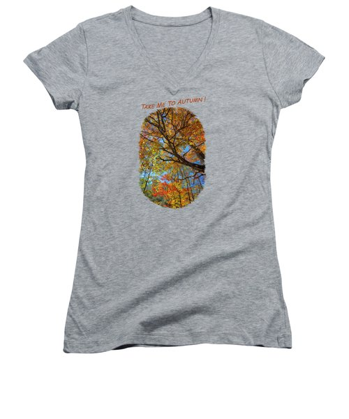 Colors On High 2 Women's V-Neck