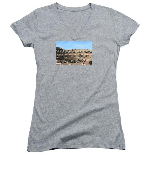 Colosseum Inside Women's V-Neck T-Shirt (Junior Cut)