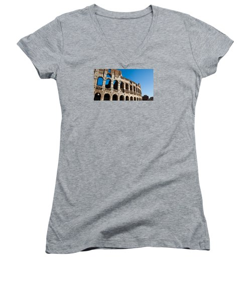 Colosseum - Old And New Women's V-Neck T-Shirt