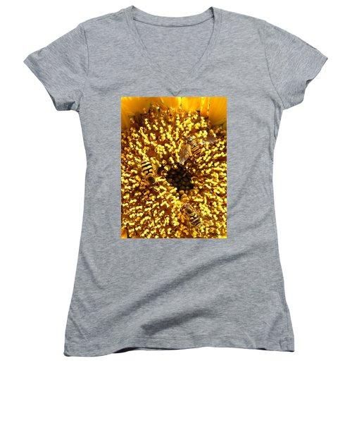 Colour Of Honey Women's V-Neck T-Shirt