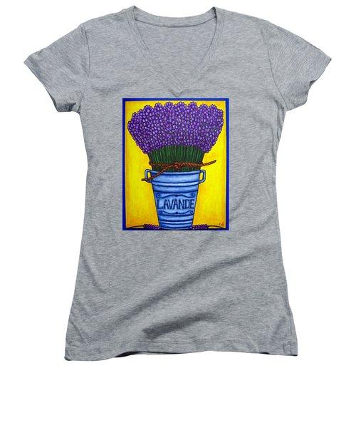 Colours Of Provence Women's V-Neck T-Shirt