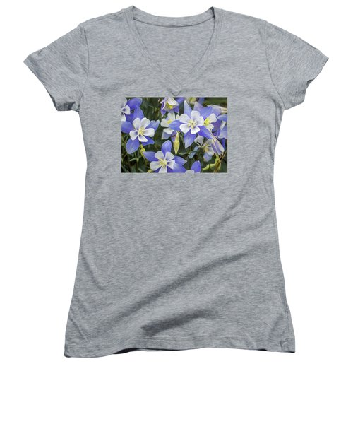 Columbine Women's V-Neck