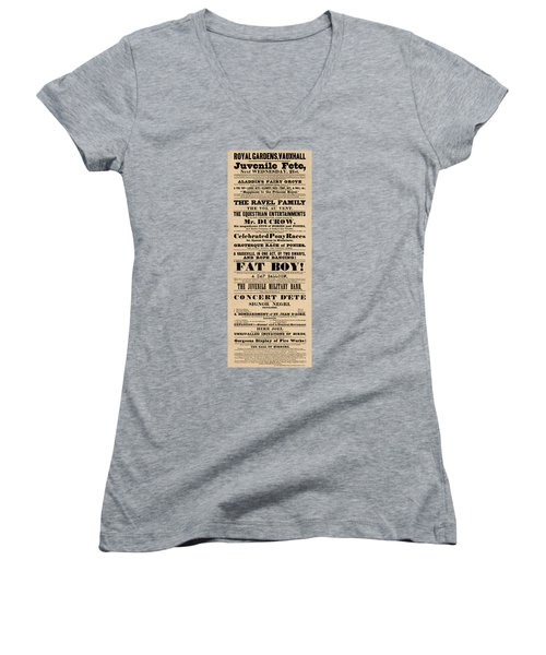 Come See The Fat Boy Women's V-Neck T-Shirt