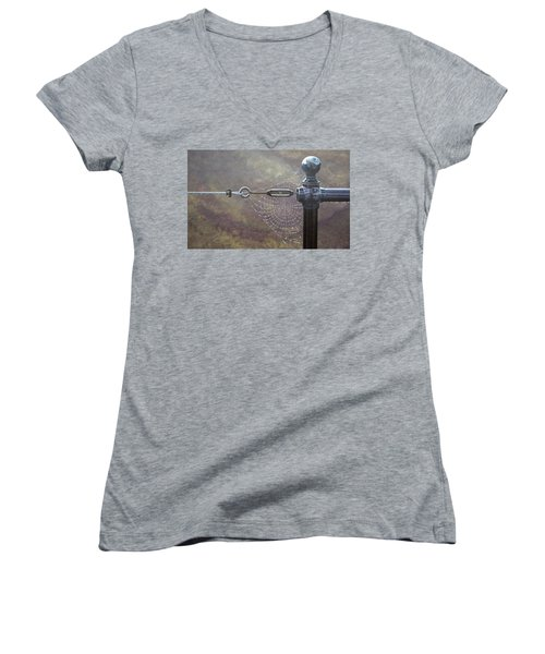 Comparative Engineering Women's V-Neck T-Shirt (Junior Cut) by Laurie Stewart