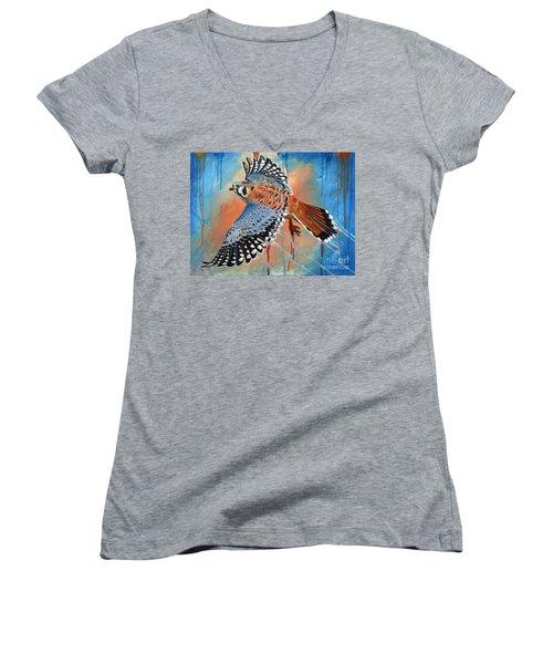 Complimentary Women's V-Neck T-Shirt