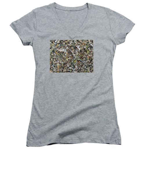 Composition #16 Women's V-Neck (Athletic Fit)