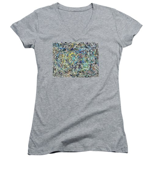 Composition #17 Women's V-Neck (Athletic Fit)