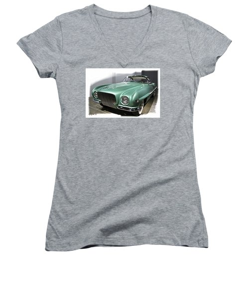 Concept Car 2 Women's V-Neck (Athletic Fit)