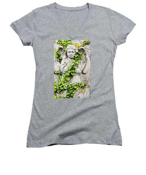 Concrete Angel Women's V-Neck T-Shirt