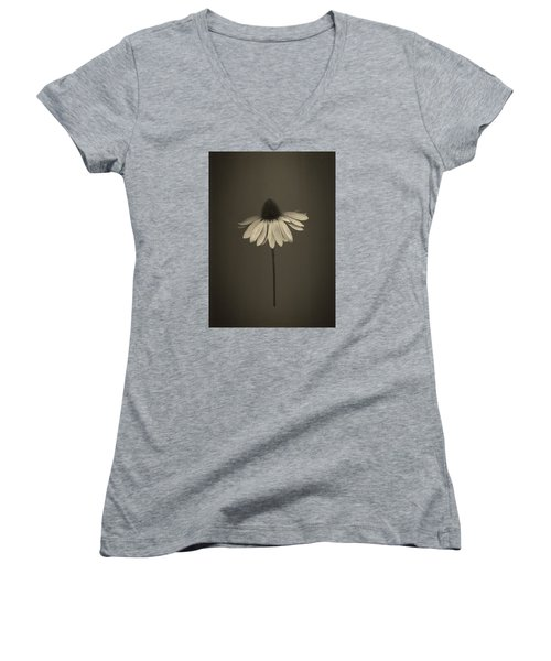 Cone Flower 8 Women's V-Neck (Athletic Fit)