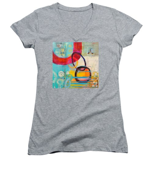 Conections Women's V-Neck (Athletic Fit)