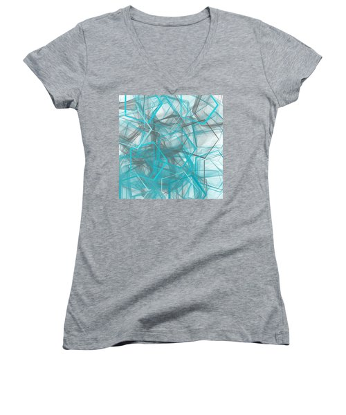 Connecting Angles Women's V-Neck