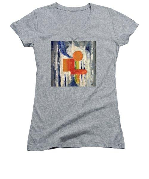 Construction Women's V-Neck T-Shirt