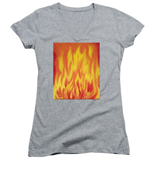Consuming Fire Women's V-Neck