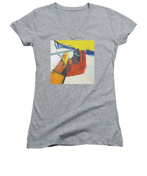 Contradiction Women's V-Neck (Athletic Fit)