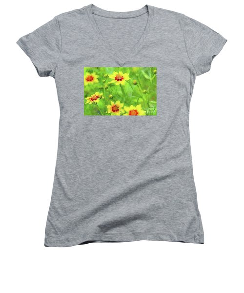 Conversation Women's V-Neck T-Shirt