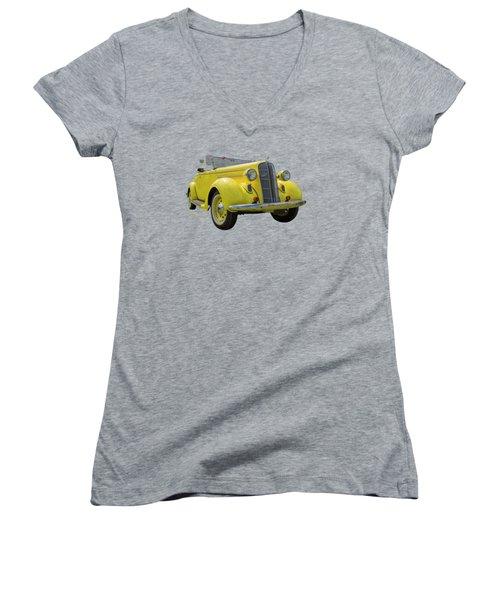Convertible Dodge Women's V-Neck T-Shirt