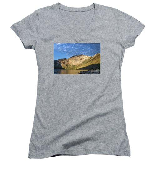 Convict Lake  Women's V-Neck (Athletic Fit)