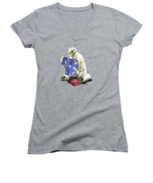 Cool Women's V-Neck (Athletic Fit)