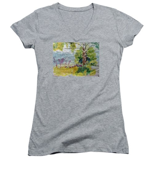 Cool Summer Clearing Women's V-Neck (Athletic Fit)