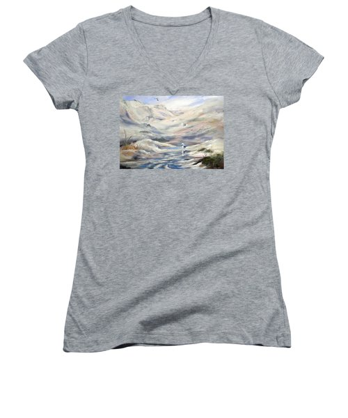 Coorong, South Australia. Women's V-Neck