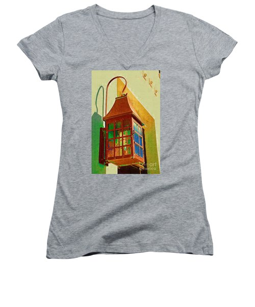 Copper Lantern Women's V-Neck