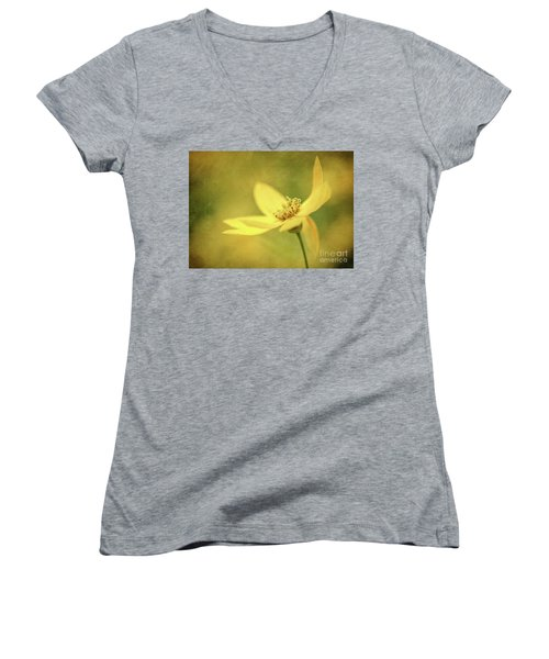 Coreopsis Women's V-Neck (Athletic Fit)