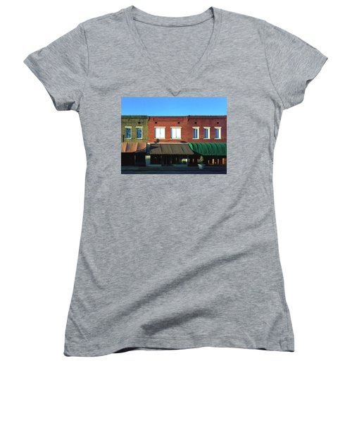 Corinth Light Women's V-Neck T-Shirt (Junior Cut)