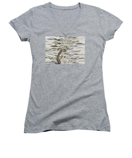 The Catch Women's V-Neck T-Shirt