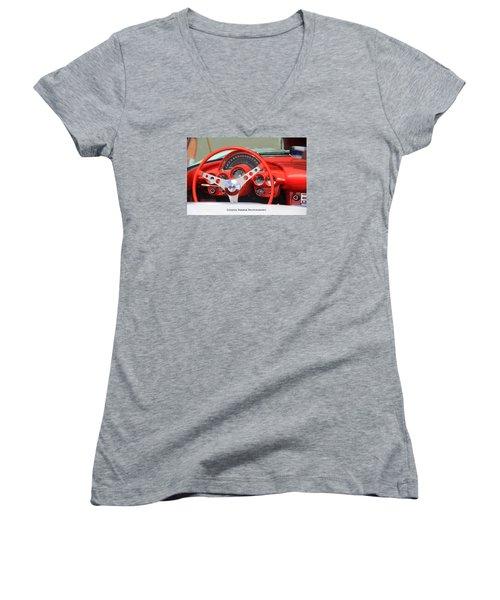 Corvette Women's V-Neck (Athletic Fit)
