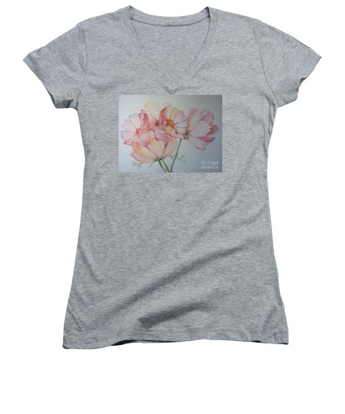 Cosmea Women's V-Neck T-Shirt