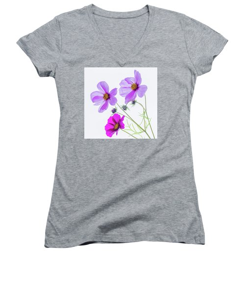 Cosmos Bright Women's V-Neck