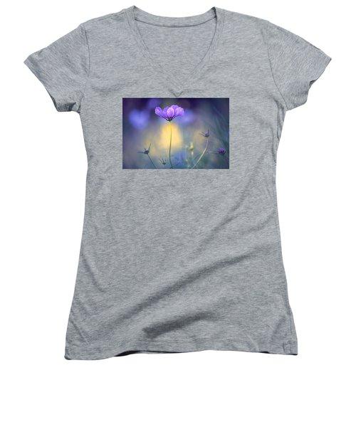 Cosmos Pose Women's V-Neck