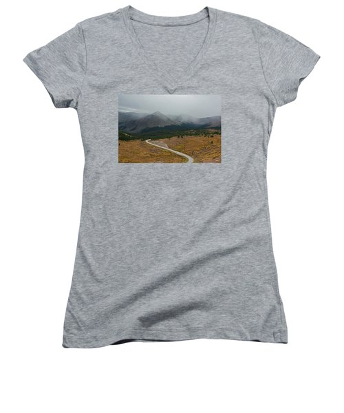 Cottonwood Pass #1 Women's V-Neck T-Shirt